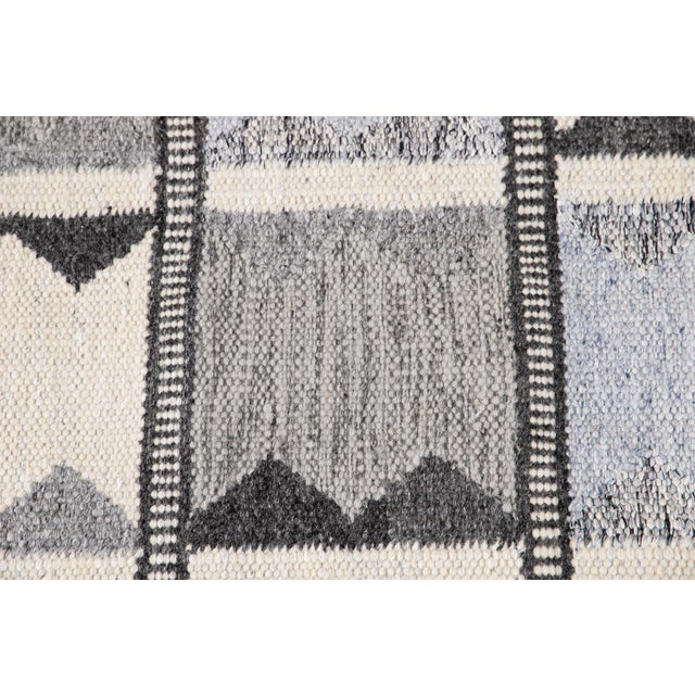 21st Century Contemporary Swedish Style Runner Rug, 3' X 12' For Sale - Image 9 of 11