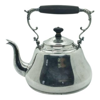 Early 20th Century Silver Plate Coffee Pot by Carl Deffner of Esslingen For Sale