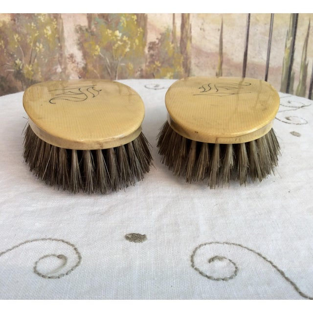 Vintage Celluloid Valet Clothing Brushes For Sale In Columbus - Image 6 of 8