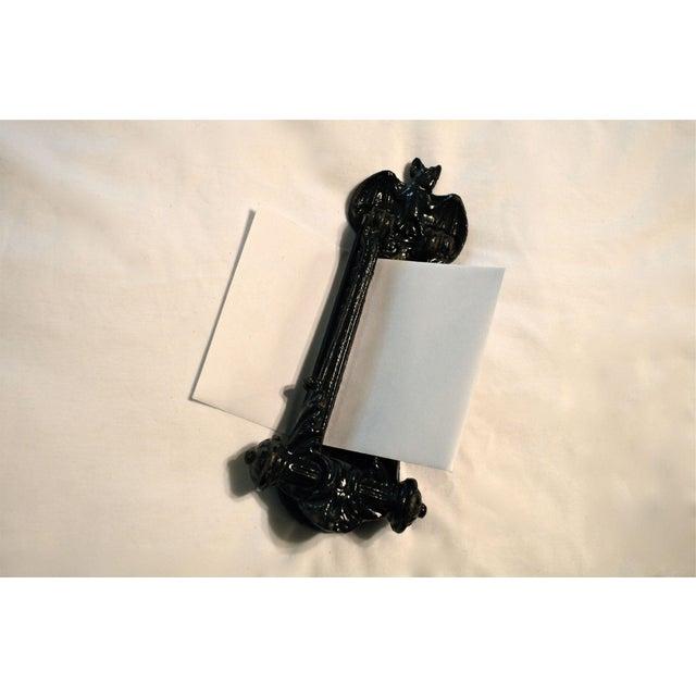 Kenrick Bat Door Knocker & Letter Slot For Sale - Image 11 of 11