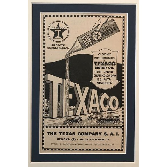 A charming vintage poster from one of the greatest manufacturers of motor oil in the world and a little Texaco trivia:...