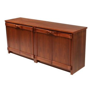 1960s Walnut Credenza by Franz Xaver Sproll For Sale