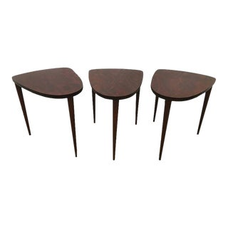 Rosewood Tables - Set of 3