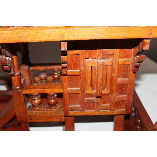 Arts & Crafts Folk Art Thai Style Boat House For Sale - Image 10 of 11