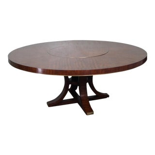 Jonathan Charles Round Hyedua Dining Table For Sale
