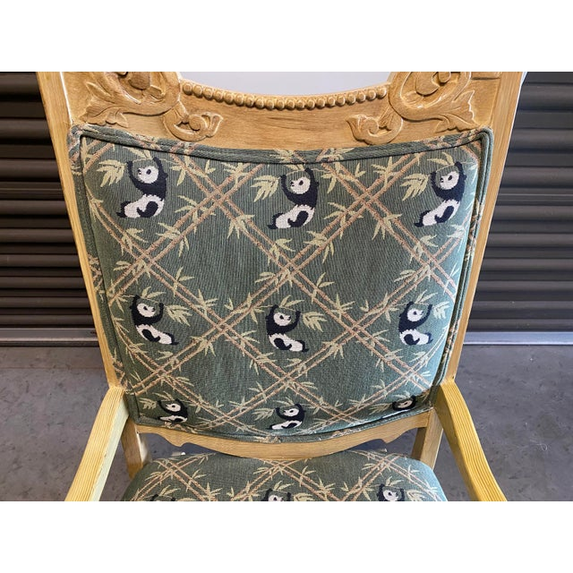 19th Century Refinished Rocking Chair For Sale In Las Vegas - Image 6 of 10