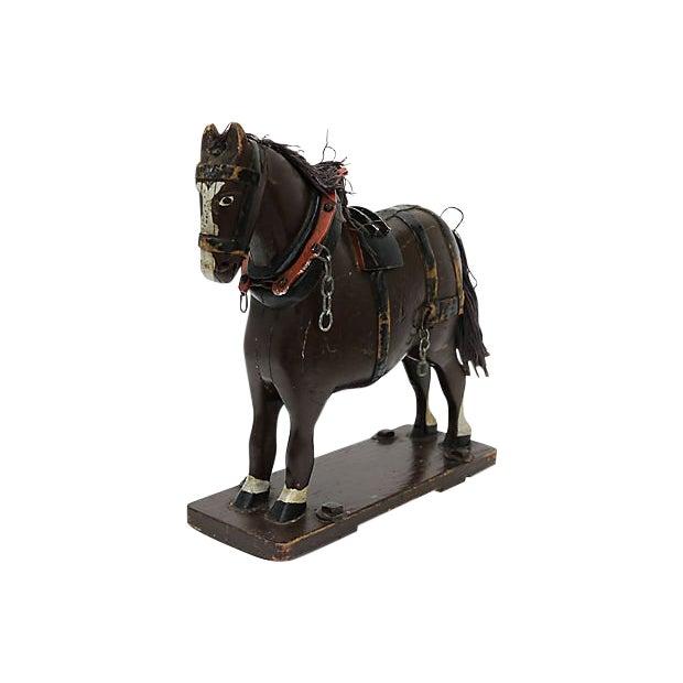 Antique French Folk Art Horse For Sale
