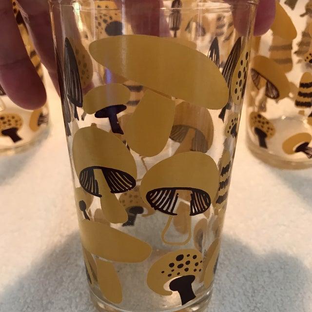 Mid-Century Modern Mushroom Glasses - Set of 8 - Image 7 of 10