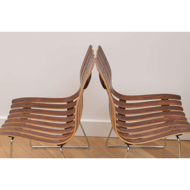 Hans Brattrud Rosewood Chairs - Set of 4 For Sale In San Francisco - Image 6 of 8