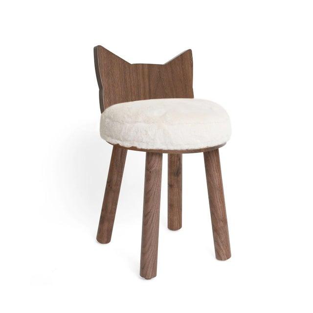 "Modern Nico & Yeye Fuzzy Kitty Kids Chair ""III"" For Sale - Image 3 of 3"