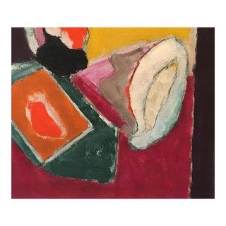 """Natura Moarta"" Abstract Still Life Painting"