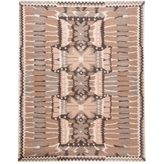 Kilims Natural Artisan Flatweave Rug 9' X 12' For Sale
