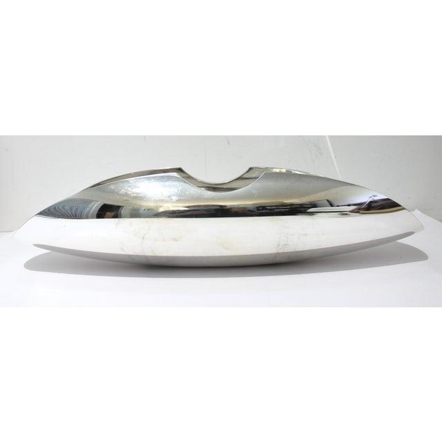 Silver Vintage Sabattini Sayala Baguette Form Serving Dish Silver Plate For Sale - Image 8 of 12