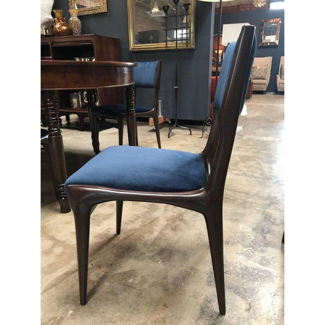 Carlo de Carli Chairs Set of Eight Including Two Chairs with Armrest 1951 For Sale In Los Angeles - Image 6 of 7