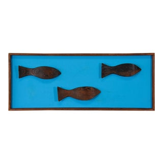 Witco Carved Fish Art Piece