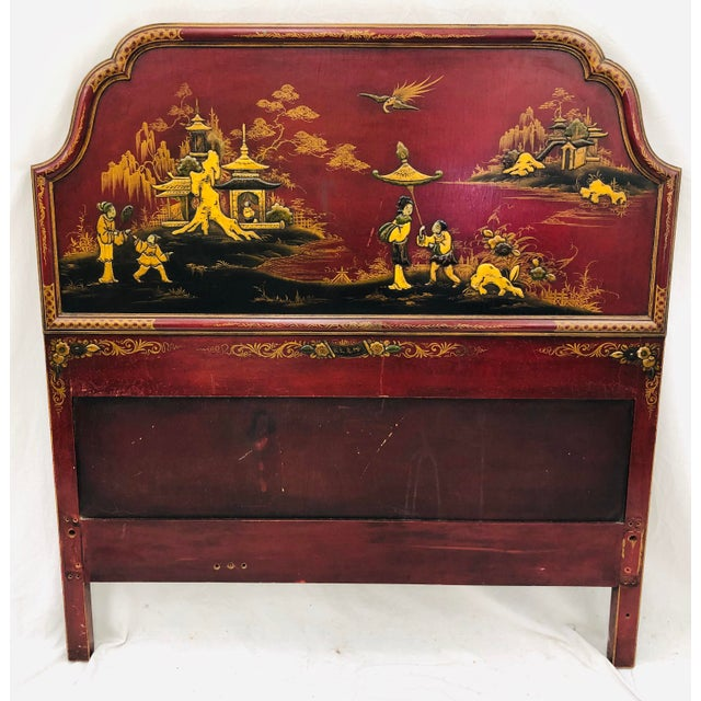 Antique Chinoiserie Bed For Sale - Image 13 of 13