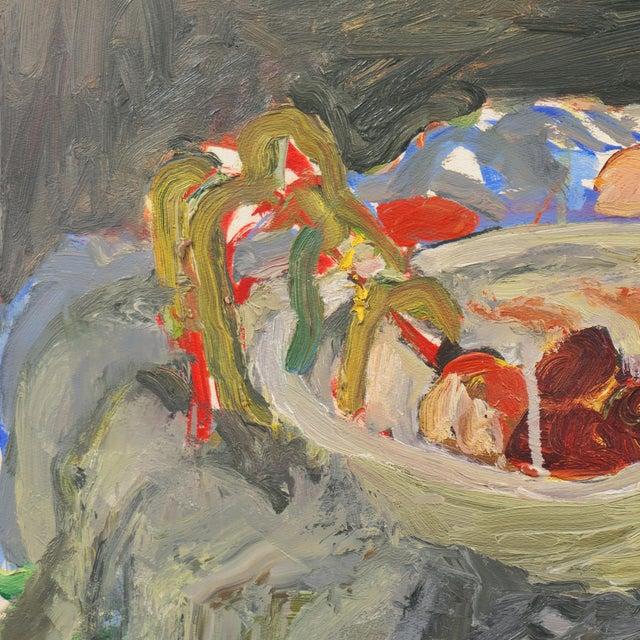 'Still Life With Plums' by Janet Ament De La Roch; Salon D'Automne, Paris, California Woman Artist, Lacma For Sale - Image 6 of 9