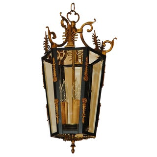 Empire Style Lantern For Sale