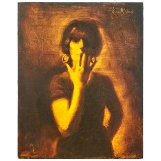 """Foxy Lady"" by Kenneth Hari For Sale"
