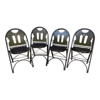 1927 Art Deco Style Louis Rastetter Solid Kumfort Chairs - Set of 4