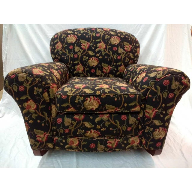 Early 20th Century Overstuffed Rocker For Sale - Image 10 of 10
