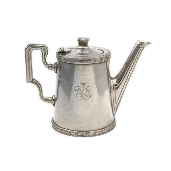 20th Century Art Deco Ercuis Silver Orient Express Coffee Pot For Sale - Image 9 of 9