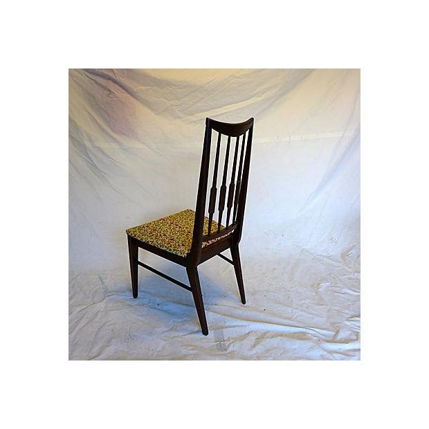 Mid-Century Reed-Back Dining Chairs - Set of 4 For Sale - Image 7 of 8