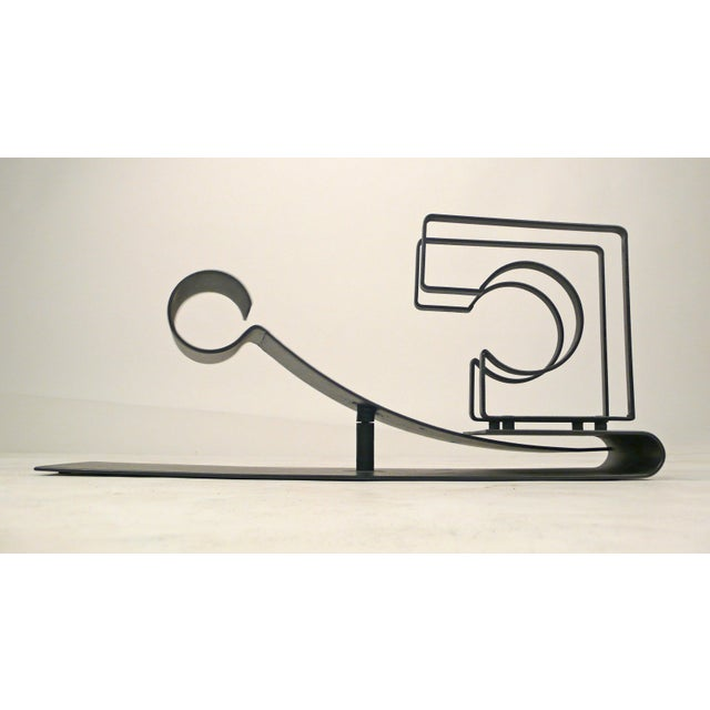 "Mid-Century Modern ""Symbiosis"" a Kinetic Sculpture by Michael Secter For Sale - Image 3 of 10"