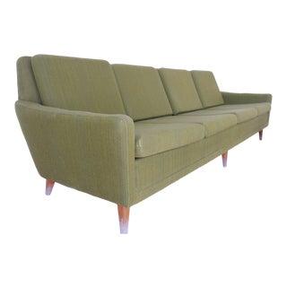 1960s Vintage Folke Ohlsson for Swedish Dux Sofa For Sale