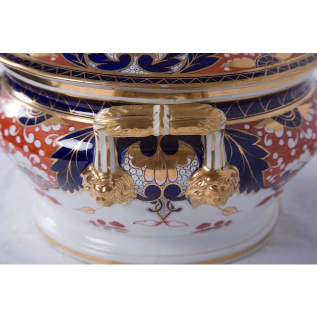 Late 19th Century 19th Century Crown Derby Circular Tureen For Sale - Image 5 of 7