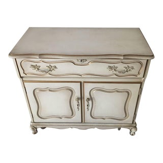 1970s Vintage French Provincial Dry Bar