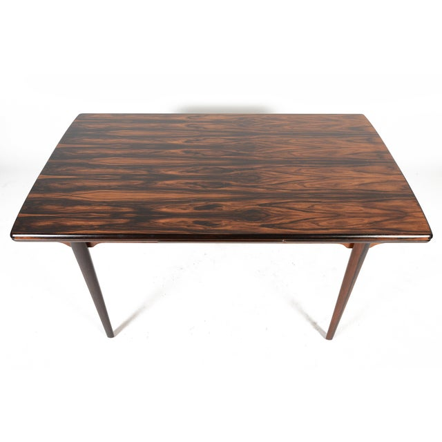 Brazilian Rosewood Draw Leaf Dining Table - Image 3 of 11