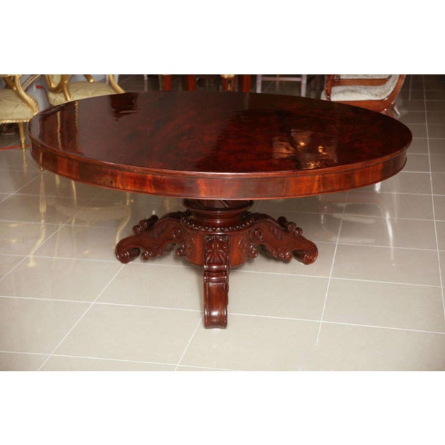 Brown William IV Mahogany Center/Dining Table For Sale - Image 8 of 8