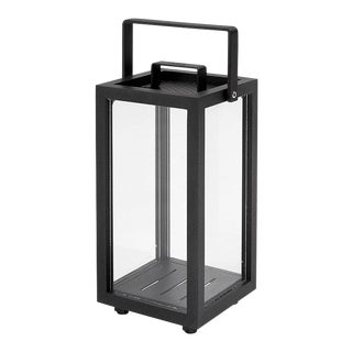 Cane-Line Lighthouse Lantern, Extra Small, Lava Gray For Sale