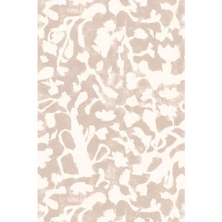 Floral Fauna Blush Large Wallpaper For Sale