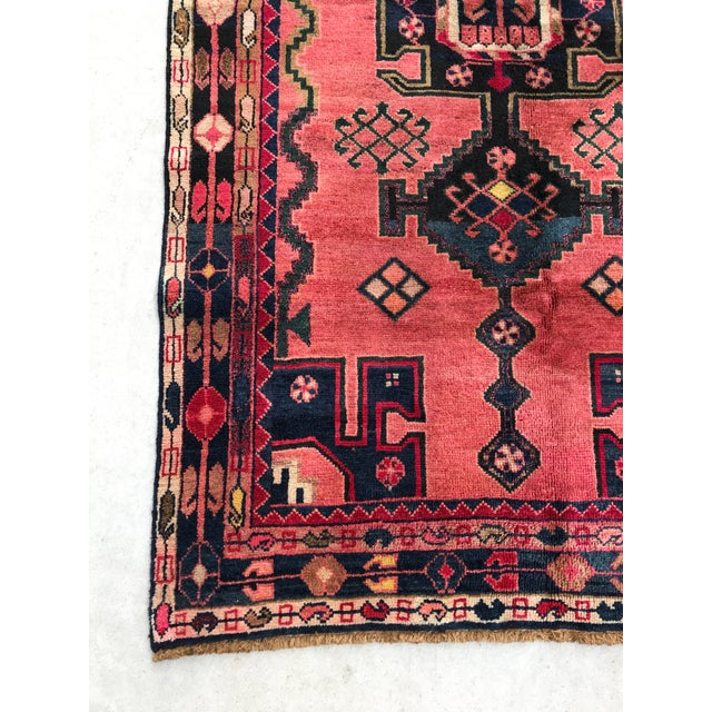 "Vintage Persian Rug - 4'4"" x 8' - Image 3 of 7"
