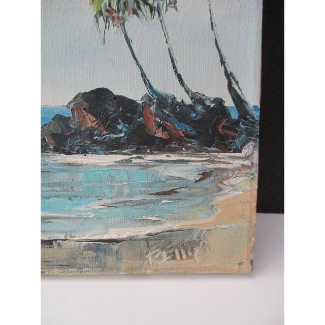 California Plein Air Seascape Painting - Image 8 of 9