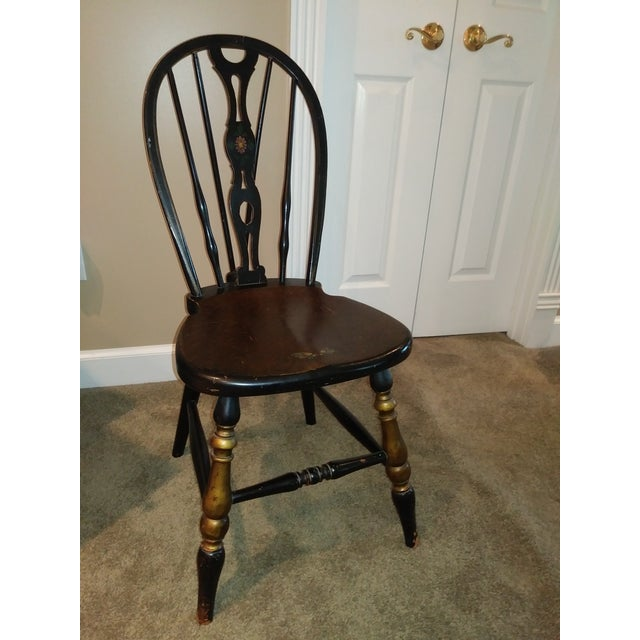 Stickley Bros. Vanity W/ Tri Fold Mirror & Chair For Sale - Image 9 of 13
