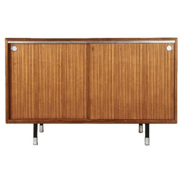 1960s 1960s Mid-Century Modern George Nelson for Herman Miller Teak Sideboard/Cabinet For Sale - Image 5 of 5
