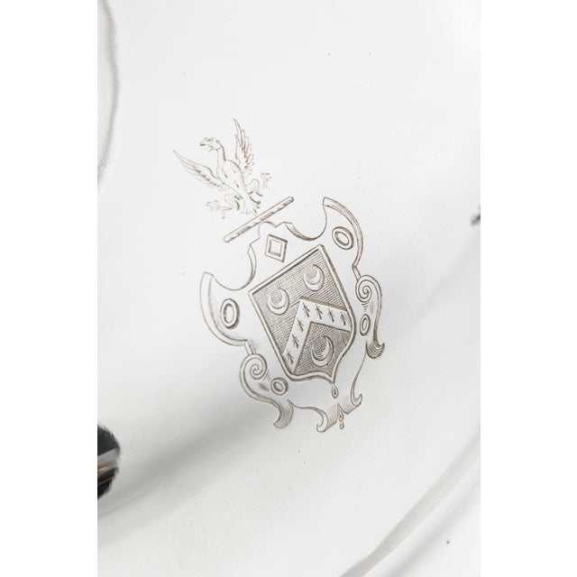 English Silver Plate Venison Dish With Covered Dome For Sale - Image 4 of 13