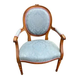19th Century French Accent Chair For Sale