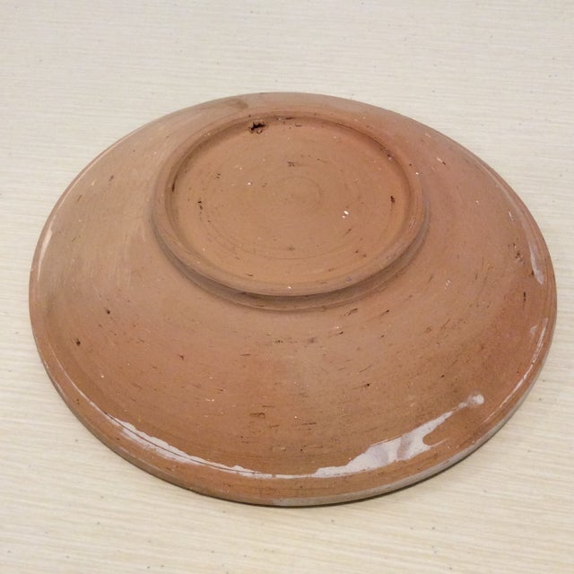 Handmade Romanian Pottery Bowl For Sale - Image 4 of 7