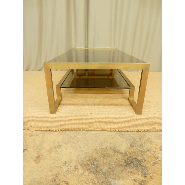 1960s Guy Lefevre' Mid-Century Coffee Table For Sale - Image 5 of 7