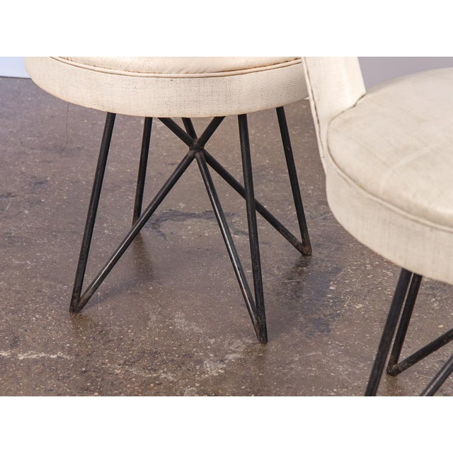 1950s Occasional Side Chairs - A Pair For Sale - Image 9 of 10