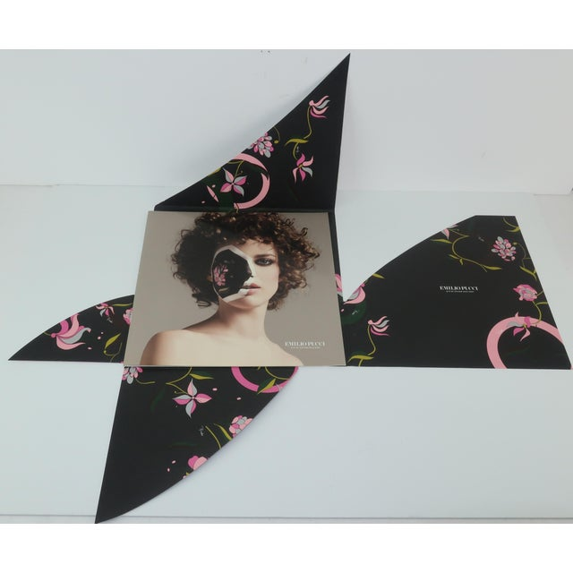 Contemporary Winter 2004/2005 Emilio Pucci Long Silk Scarf With Lookbook For Sale - Image 3 of 13