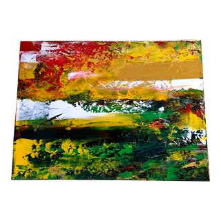"""Nancy Smith Contemporary Acrylic Abstract Painting """"Twenty-Four Hours"""" For Sale"""