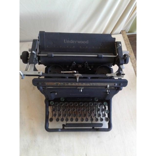 Antique Underwood Typewriter - Image 4 of 9