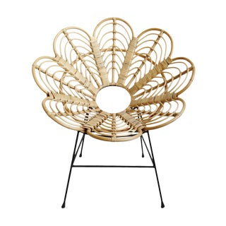 Bamboo Flower Chair For Sale