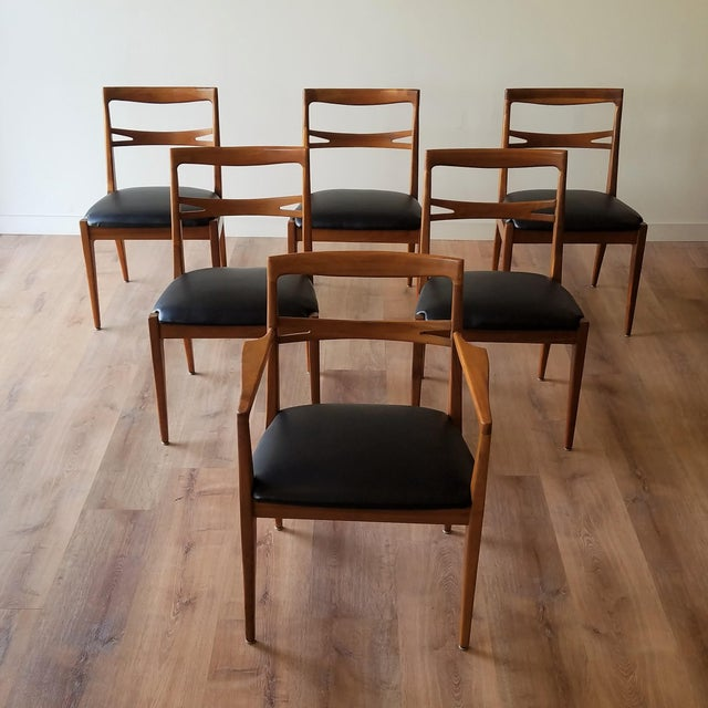 1953 Newly Upholstered Drexel Declaration Collection Dining Chairs - Set of 6 For Sale - Image 13 of 13