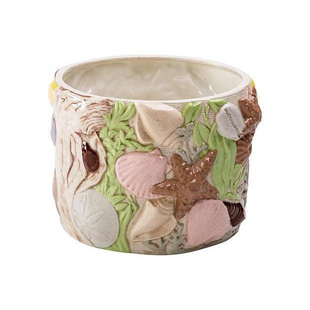 """Under the Sea"" Ceramic Planter For Sale - Image 10 of 10"